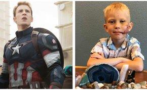 Marvel hősök gratuláltak a húgát megmentő kisfiúnak