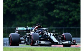 Hamilton óriási körrekorddal nyerte meg az időmérőt a Hungaroringen – galéria