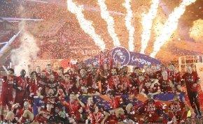 Így ünnepelte a Liverpool a bajnoki címét – videó