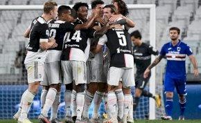 Sorozatban kilencedszer lett olasz bajnok a Juventus! – videó
