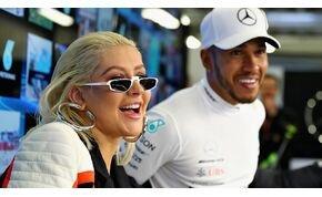Lewis Hamilton és Christina Aguilera csinált egy közös dalt