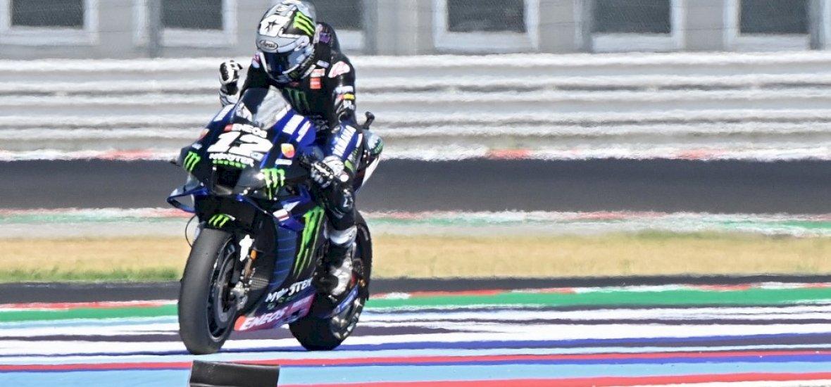 MotoGP-Emilia Romagna: Vinalesnek kijött a lépés