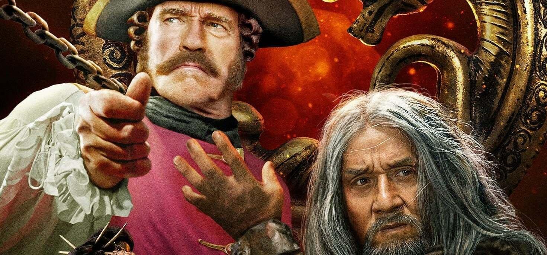 Jackie Chan Arnold Schwarzenegger ellen: megérkezett az Iron Mask új előzetese