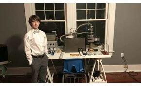 Tizenkét évesen épített fúziós reaktort, Guinness-rekorder lett