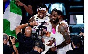 Újra megkoronázták LeBron Jamest, 17. alkalommal bajnok a Los Angeles Lakers