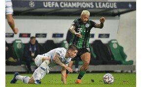 BL: a Ferencváros pontot szerzett a Dinamo Kijev ellen! – videó