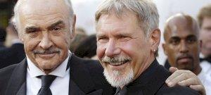 """Így búcsúzik Harrison Ford az """"apjától"""", Sean Connery-től"""