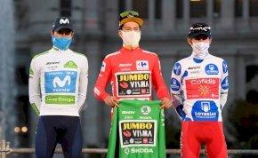 Primoz Roglic lett a 2020-as Vuelta győztese