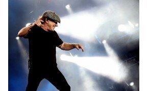 Ezért hord mindig sapkát az AC/DC énekese, Brian Johnson