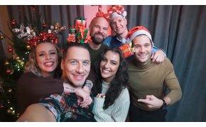 Tóth Andiék Justin Bieberrel varázsolnak karácsonyi hangulatot – videó