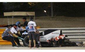Legóból örökítették meg Grosjean balesetét