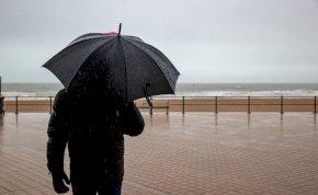 Időjárás: elő lehet készíteni az esernyőt az év utolsó napjaiban