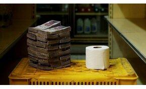 Venezuelában egy talicskányi pénzért lehet csak kenyeret venni