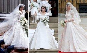 Királyi rongyrázás: ezek az elmúlt évtizedek legdrágább esküvői ruhái