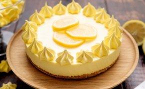 Íme egy pofonegyszerű húsvéti citromtorta recept!