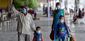 Duplán mutálódott koronavírus-variánst fedeztek fel Indiában