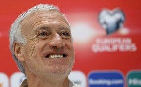 A francia futballválogatott szövetségi kapitánya jól kiröhögött egy újságírót