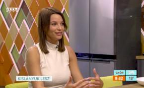 Berki Mazsi élő adásban beszélt terhessége nehézségeiről