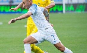 Az ukrán válogatott egyik tagja csúnyán kifigurázta Cristiano Rolando kólás ügyét