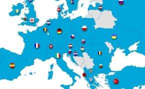 Interaktív térkép az EB szereplőiről - itt megtudod, hogyan teljesítettek az európai nemzetek