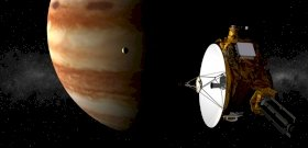 message from space?  The mysterious radio waves will be picked up by NASA's spacecraft from Jupiter's moon