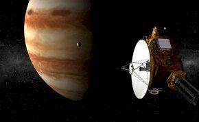 Üzenet az űrből? Rejtélyes rádióhullámokat fog a NASA űrszondája a Jupiter Holdjáról