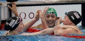 Mindenki a csodaszép női olimpikon lába közét bámulta, furcsa látvány tárult eléjük