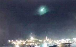 Rejtélyes, zöld objektum csapódott a Földbe Törökországban - csak nem támadnak az ufók?!