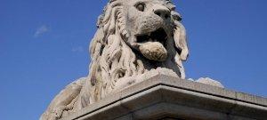 Eltűnt a Lánchíd egyik oroszlánja