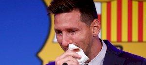 Lionel Messi a PSG-vel kötött szerződésével fogja törölgetni a könnyeit