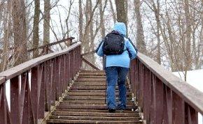 Csak egyszer figyelmeztetünk: maradj távol az erdőkben felbukkanó lépcsőktől!