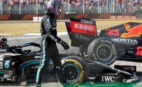 F1: az egymással csatázó Hamilton és Verstappen kiejtették egymást az Olasz Nagydíjon