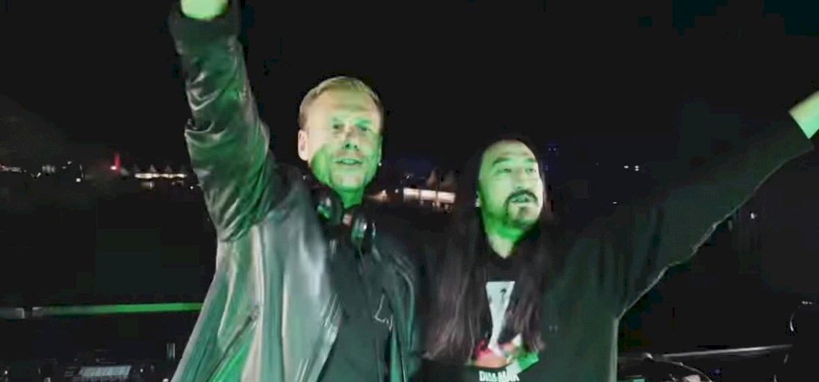 Valóra vált álom: összefogott Armin van Buuren és Steve Aoki, hogy elhozzák nekünk az év egyik legveretősebb bulihimnuszát – klip