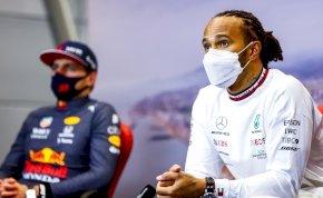 Hamilton szerint többször ütközne Max Verstappennel, ha nem fogná vissza magát