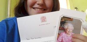 II. Erzsébet királynő egy magyar lánynak üzent – íme, a levél!