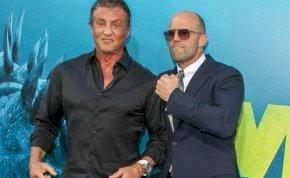 Sylvester Stallone és Jason Statham olyanok a Feláldozhatók 4 forgatásán, mint két huncut kölyök – képek