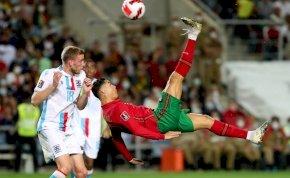 Cristiano Ronaldo meglőtte volna az év egyik legszebb gólját, ha nincs résen a kapus