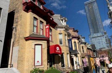 """Torontó """"központja"""""""