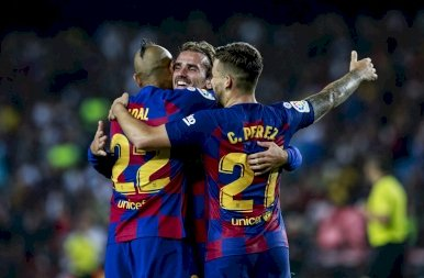 FC Barcelona - Betis 2019. 08. 25.
