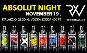Absolut Night - Rockwell Klub