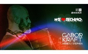 We Love Techno! Gabor Kraft