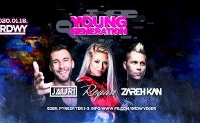Young Generation / Regan ✘ Zareh Kan ✘ Jauri