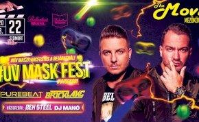 #UV Mask Fest ✘ Purebeat, Bricklake