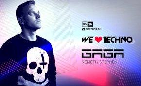 We Love Techno / GAGA /