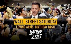 WALL Street Saturday Tabu Debrecen Loving ARMS Birthday BASH
