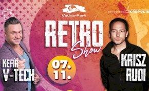 RETRO Show • V-TECH & KRISZ RUDI | Vadna-Park 07.11.szombat