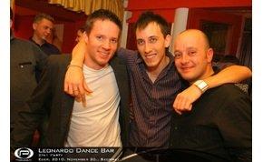Eger, Leonardo Dance Bar - 2010. november 20., Szombat