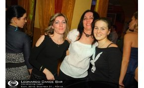 Eger, Leonardo Dance Bar - 2010. december 31., Péntek