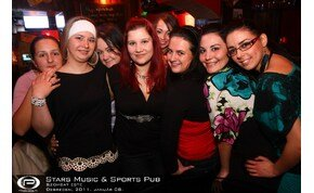 Debrecen, Stars Music & Sports Pub - 2011. január 08. Szombat