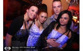 Debrecen, Retro 69 Music Bar - 2011. október 14. Péntek